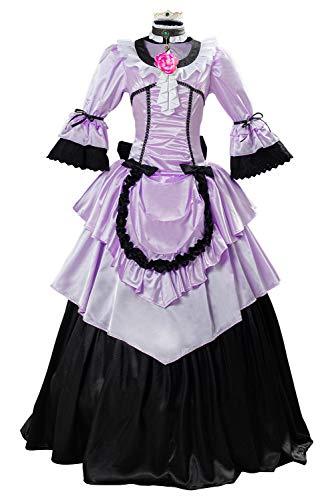 Bilicos Fantasy VII Remake Cloud Strife Kleid Halloween Karneval Outfit Cosplay Kostüm Herren XXXL