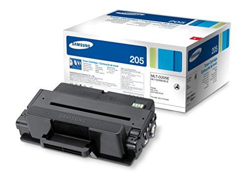 Samsung MLT-D205E Original Toner (Hohe Reichweite, Kompatibel mit: ML-3710, SCX-5637, SCX-5737) schwarz