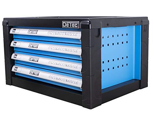DeTec. Werkzeugkiste/Werkzeugkasten inkl. 175 tlg. Werkzeugsortiment - 3