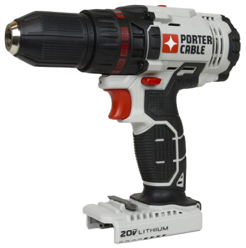 """Porter Cable PCC601 PCC601B 1/2"""" 20V MAX Lithium Ion Drill Driver (Tool Only)"""