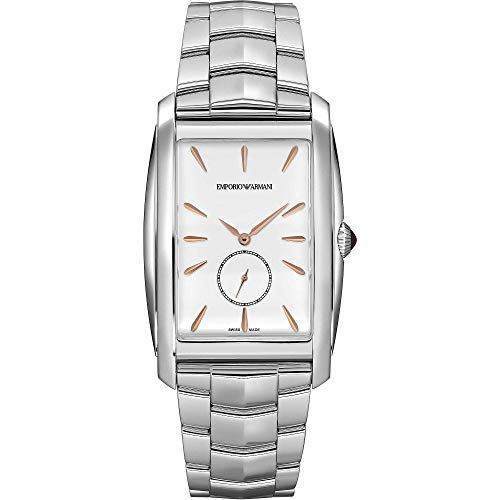 Emporio Armani Swiss - Reloj solo tiempo para hombre, moderno, cód. ARS8354
