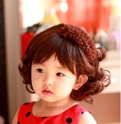 Haut de gamme de perruques Fashion enfants Bobo M Handsome filles Filles mignon chaud fil