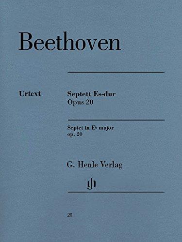 Septett Es-dur op. 20 für Klarinette (B), Fagott, Horn (Es), Violine, Viola, Violoncello und Kontrabass