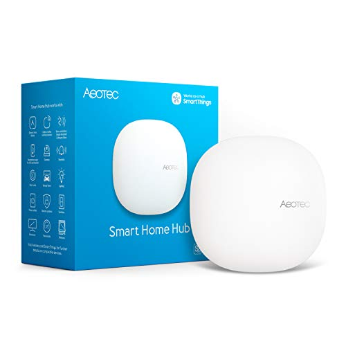 Aeotec Smart Home Hub, Works as a SmartThings Hub, Z-Wave Zigbee Gateway, Compatible with Alexa, Google Assistant, WiFi