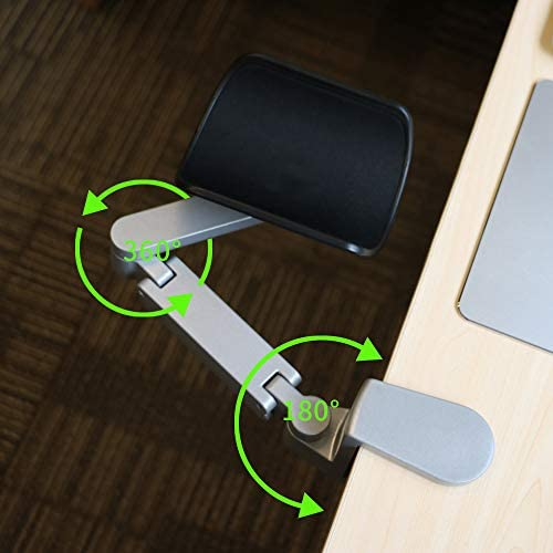 Adjustable Wrist Rest Ergonomic Arm Rest Rotating Computer Arm Rest Support Office Chair Arm product image