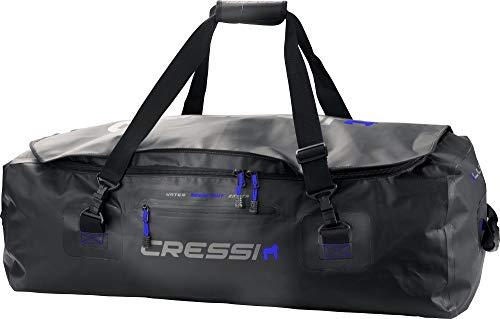 Cressi Gorilla Pro Bag Bolsa de Buceo, Unisex Adulto, Negro (Azul Logo), XXXL