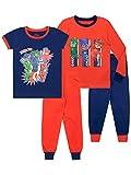 PJ Masks Pijamas Paquete de 2 para niños niños Gatuno Gekko Buhíta Ajuste Ceñido Multicolor 2-3 Años