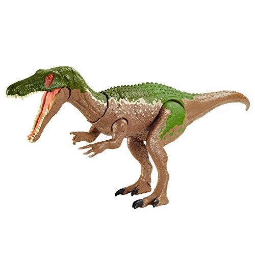Jurassic World Ruge y Ataca Baryonyx grim Dinosaurio articulado con sonidos Figura de juguete para niños (Mattel GVH65)