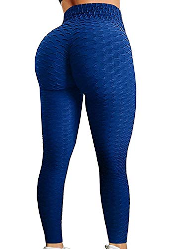 SEASUM Women's High Waist Yoga Pants Tummy Control Slimming Booty Leggings Workout Running...