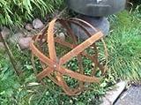 Gartendeko , GartenDekokugel aus Metall , EdelRost