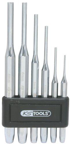 KS Tools 156.0150 Splintentreibersatz, hochglanz verchromt, 6-tlg