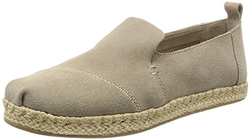 TOMS Women Deconstructed Alpargata Rope Desert Taupe, Mujer