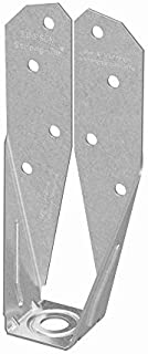 Simpson Strong Tie DTT2Z-SDS2.5 ZMAX Galvanized 14-Gauge 2x Deck Tension Tie with SDS Screws by Simpson Strong-Tie