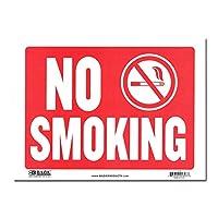 サインプレート Sサイズ 喫煙禁止【NO SMOKING】Sign Plate 看板 ガレージ インテリア アメリカン雑貨