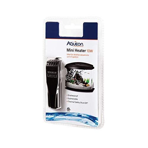 Aqueon Mini Aquarium Heater, 10 Watts, Up to 5 Gallons