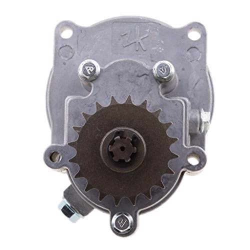 Rumors 1x aleación de Aluminio de la Motocicleta Transmisión Caja de Engranajes en Forma for 49CC 2 Tiempos / 4-Stroke Engine Mini Pocket Bike ATV PetrolScooter Chopper