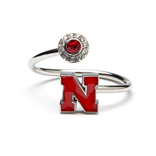 Stone Armory University of Nebraska Ring | Nebraska Jewelry | Nebraska Cornhuskers Gifts | Officially Licensed by University of Nebraska