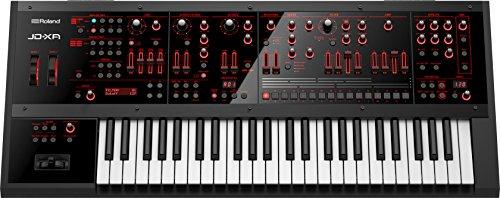 Roland-XA 49Keys USB BLACK MIDI Keyboard–MIDI Keyboards (49Keys, Buttons, Lever, Rotary, Red, USB, 899mm, 388mm)