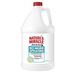 Nature's Miracle Just for Cats No More Spraying - Gallon (NM-5436)