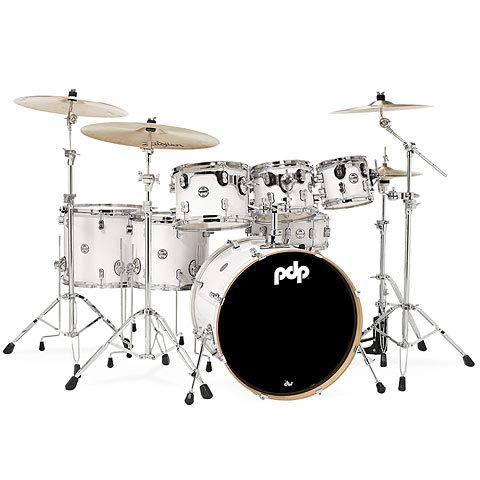 pdp Concept Maple CM7 Pearlescent White · Schlagzeug