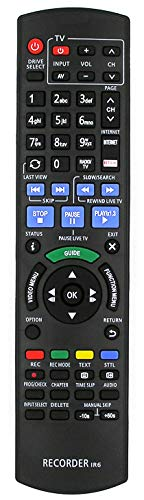 Ersatz Fernbedienung N2QAYB000759 nur für Panasonic Blu ray Disc Recorder