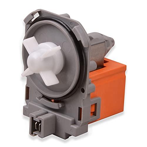 Laugenpumpe Ablaufpumpe Pumpe Ersatz für Bosch 00141874 00144484 für Waschmaschine Waschtrockner Solo-Pumpe Waschmaschinezubehör Pumpenmotor Ersatzteile für Waschmaschinen