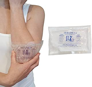 Extra Small Mini Reusable Gel Ice Pack for Injuries (3 X 5 Inches) USA Made Quality Hot Cold Packs - Pain Relief Dental Eye School Gym Breast Medication Transport by Life and Limb Gel (3)