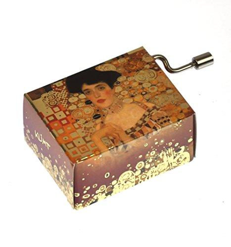 Fridolin 58121 Spieluhr Papillon - Free as The Wind / Klimt - Adele Bloch-Bauer