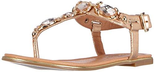 Buffalo London Damen 14BU0105 PU Zehentrenner, Gold (Rose 23), 39 EU