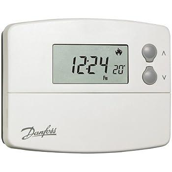 lot de 1 / 5/+ 2day/ Danfoss Tp5000 Optimal Aspect Tp5programmable Thermostat Chauffage