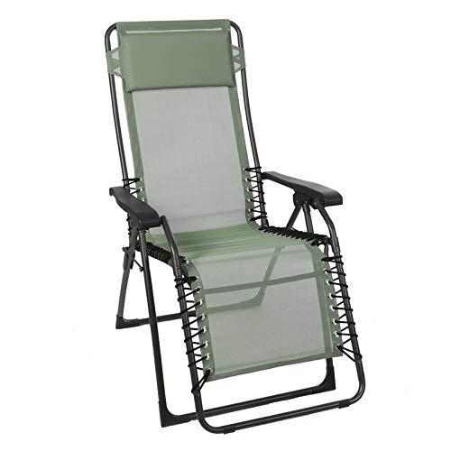 Sungörl Relaxsessel Oasi Promo, anthrazit/Olive, pulverbeschichtetes Stahlrohr/Bezug: Textilen