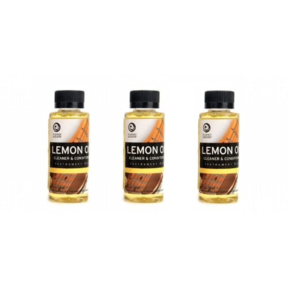 投獄ますます指標PlanetWaves レモンオイル PW-LMN Lemon Oil 3個セット