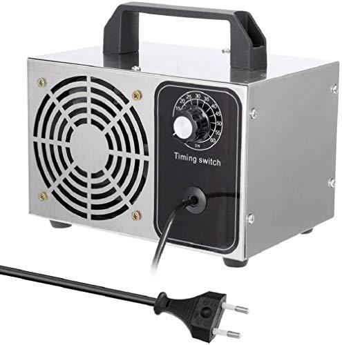 Blue98 Generador de ozono, generador de ozono Comercial de Alta Capacidad Industria 28,000 MG/h Máquina de ozono para Habitaciones Humo de automóviles y Mascotas