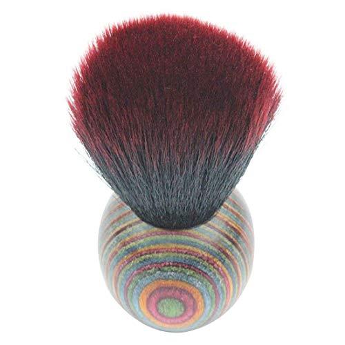 for Makeup LhxTop Qualität Farbe Holz ethnische Art Gesichtspuder Kosmetische Rougepinsel