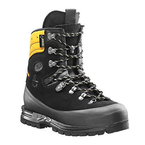 Haix Protector Alpin Hightech-Schuh für den Einsatz im steilen Gelände mit Schnittschutzklasse 3 und Krallenelement. 42