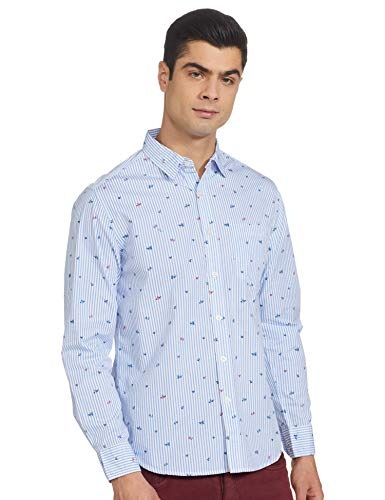 Life by Shoppers Stop Mens Slim Collar Printed Shirt