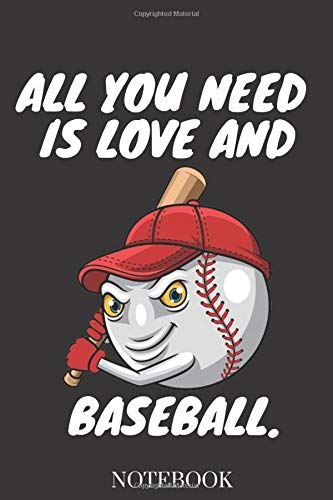 ALL YOU NEED IS LOVE AND BASEBALL.: catcher pitcher baseball funny gift,baseball player gift,Pitcher's Girlfriend gift notebook,Neoprene Cover ... for Catcher/Pitcher Girls Training Journal