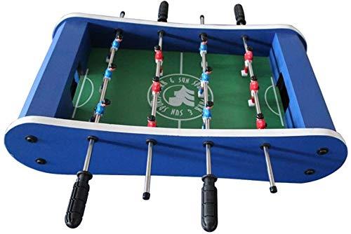 Hohe Qualität Indoor Tischfußballspiel-Spieltisch W/Pool Billard Hockey Foosball Und Tabelle (Farbe: Blau, Größe: 59x31x15cm) (Color : Blue, Size : 59x31x15cm)
