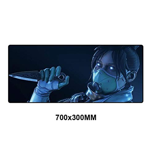 Teclado Mousepad Computadora Adorable XL Mouse Pad Speed ​​Padmouse Large Grande Mouse Mats Office Desk Protector Deskpad, Ap-023