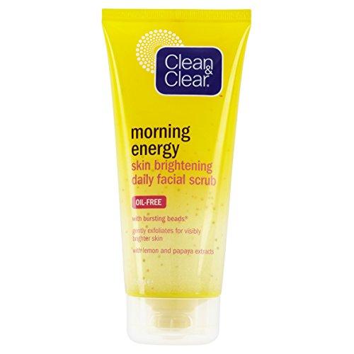 Clean & Clear Matin Énergie Peau Eclaircissant Soin du visage Gommage 150ml