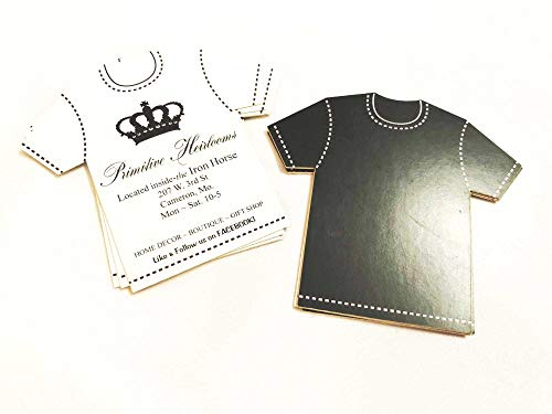 Apparel Business Cards Unique Business Cards Business Cards shirt shaped Business cards Custom Shape Business Cards Die cut Business Cards T shirt Business Cards
