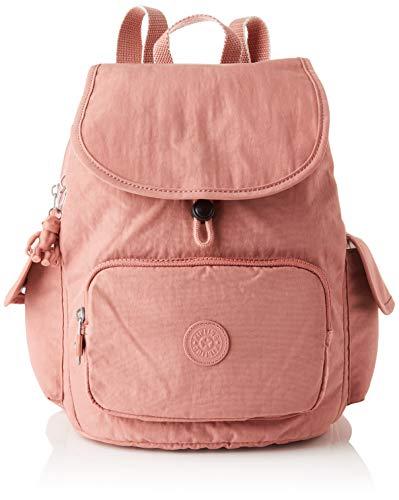 Kipling City Pack S, Backpacks Donna, Rosa Bambino, 19x27x33.5 cm