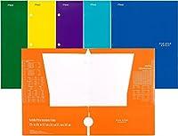 Mead 5スター4ポケット紙フォルダ 6 Folders