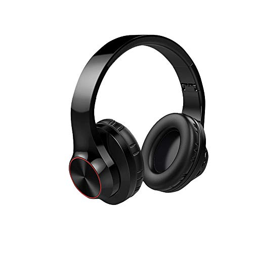 Gaming Headsets,HiFi Stereo Wireless Earphone,Folding Storage, Soft Earmuffs, Long Battery Life,Apply to Compatible with Computers, Ps4, Laptop Green/red