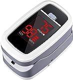 Finger Pulse Oximeter, ATMOKO LED Display Digital Oxygen Monitor finger, Fingertip Blood Oxygen