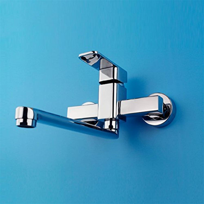 PLYY Kupferne Küche hei und Kalt Wasserhahn Ein-Hand-Doppelgriff hei und Kalt Mischventil Wasserhahn
