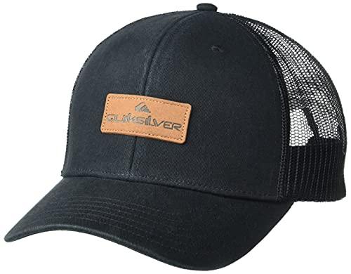 Quiksilver Herren Beach Chicken Snapback Trucker Hat Hut, schwarz, Einheitsgröße