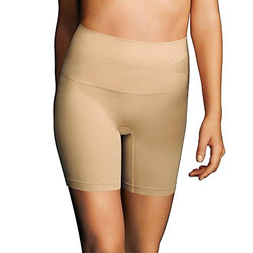 Maidenform Women's Comfort Slim Waisters Thigh Slimmer Shapewear_Laffte Lift_S
