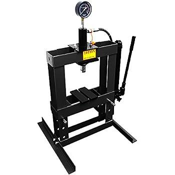WEIMALL 10トン 油圧プレス メーター付 門型プレス機 10ton 黒