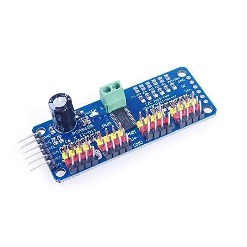 ANGEEK PCA9685 16 Kanal 12 Bit PWM Servotreiber Motor Treiber I2C Modul IIC Schnittstelle für Arduino Roboter und Raspberry Pi